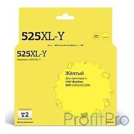 T2 LC-525XL-Y Картридж T2 (IC-B525XL-Y) для Brother DCP-J100/J105/J200, желтый