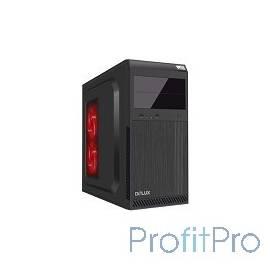 MidiTower DELUX DW600 БЕЗ БП (черный) ATX 2.03, Tac 2..0, USB 3.0