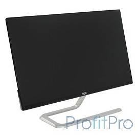 """LCD AOC 23.8"""" I2481FXH Silver-Black AH-IPS, 1920x1080, 4 ms, 178°/178°, 250 cd/m, 50M:1,D-Sub, 2xHDMI"""