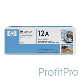 HP Q2612A Картридж ,BlackLaserJet 1010/1018/1020/1012/1015/3015/3020/3030, Black, (2000стр.)