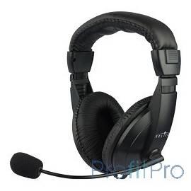 Oklick HS-M137V черный 1.8м мониторы оголовье