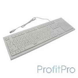 Keyboard Gembird KB-8353U, USB, белый, 104 клавиши