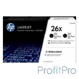 HP CF226XF Катридж Black для M426fdn/M426fdw/M426dw/M402d/M402n/M402dn, (2x9000 стр.)