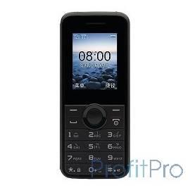 "Philips E106 Black Мобильный телефон черный моноблок 2Sim 1.77"" 128x160 GSM900/1800 GSM1900 MP3 FM microSD max16Gb"