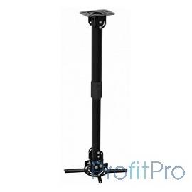 Cactus CS-VM-PR16L-BK черный Кронштейн для проектора макс.13.6кг настенный и потолочный поворот