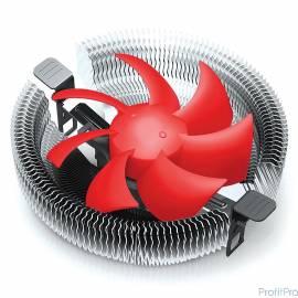 CROWN Кулер для процессора CM-91PWM ( Для Intel и AMD,TDP до 125 Ватт, коннектор 4 pin,PWM, Низкая посадка радиатора,Гидродина
