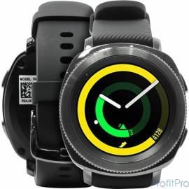 "Sam. GearSport часы SM-R600 black [SM-R600NZKASER] 1GHz, 768MbRAM, 1.2"" 360x360 AMOLED, BT+WiFi+NFC+GPS, 4Gb, Tizen"