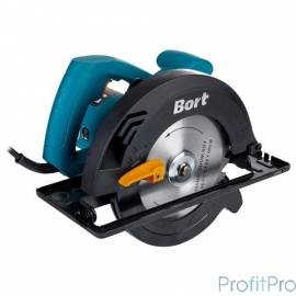 Bort BHK-185U Пила циркулярная [BHK-185U] 1250 Вт, 5600 об/мин, 185 мм, 20мм, 4.1 кг, набор аксессуаров 5 шт
