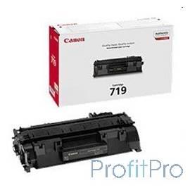 Canon Cartridge 719 3479B002 Картридж для LBP 6300dn/6650dn, MF 5840dn/5880dn/411DW, Черный, 2100 стр.
