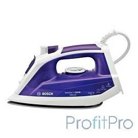 Утюг BOSCH TDA1024110, 2300Вт, фиолетовый/ белый