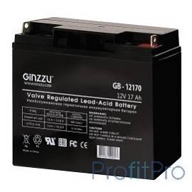 Ginzzu Батарея GB-12170 свинцово-кислотный, необслуживаемый, технология AGM, 12В / 17Ач