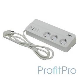 APC PM6-RS сетевой фильтр 2м, белый