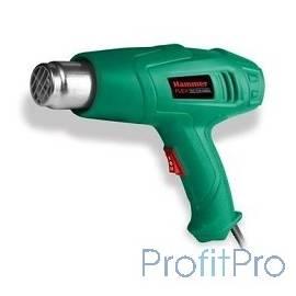 Hammer Flex HG2000LE Фен технический [378204] 2000Вт 350/600С 300/500л/мин насадки, тепл.защита