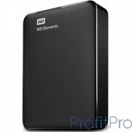 "WD Portable HDD 4Tb Elements Portable WDBU6Y0040BBK-WESN USB3.0, 2.5"", black"