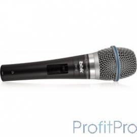 Микрофон BBK CM132 темно-серый унивирсазльный динамический, тип разъема Jack 6.3, материал корпуса металл