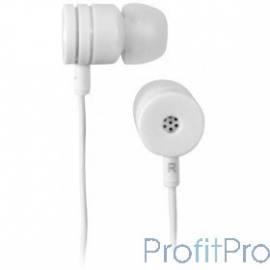 Наушники BBK EP-1180S белый 1.2м белый проводные (в ушной раковине)