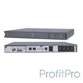 APC Smart-UPS SC 450AV SC450RMI1U Line-Interactive, 1U Rack/Tower, IEC