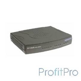 D-Link DVG-5004S/C1A/D1A Голосовой шлюз с 4 FXS-портами, 1 WAN-портом 10/100Base-TX и 4 LAN-портами 10/100Base-TX