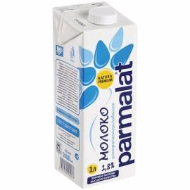 Молоко Parmalat ультрапастеризованное, 1,8%, 1л, картонная коробка