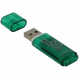 "Память Smart Buy ""Glossy"" 16GB, USB 2.0 Flash Drive, зеленый"
