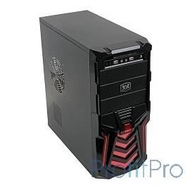 "3Cott 3C-ATX110GR ""Gladiator"" 500Вт USB 2.0x2 Red"