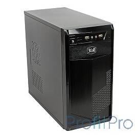 """3Cott 3C-MATX-PV1B """"Stealth"""" для игрового компьютера, mATX, блок питания 500 Вт, выходы USB 2.0x2, аудиовыход, микрофонный вход"""