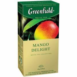 """Чай Greenfield """"Mango Delinght"""", 25 фольг. пакетиков по 1.5г"""