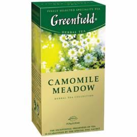 """Чай Greenfield """"Camomile Meadow"""", травяной, 25 фольг. пакетиков по 1,5г"""