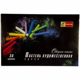 """Пастель художественная Спектр """"Северное Сияние"""", 36 цветов, картон. упак."""