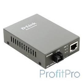 D-Link DMC-F20SC-BXD/A1A WDM медиаконвертер с 1 портом 10/100Base-TX и 1 портом 100Base-FX с разъемом SC (ТХ: 1550 нм RX: 1310