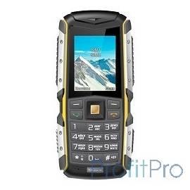 TEXET TM-512R мобильный телефон цвет черный/желтый