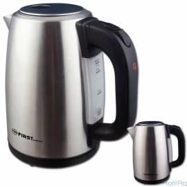 Чайник FIRST FA-5410-0 Stell стальной Мощность 2200 Вт. Максимальный объем 1.7 л