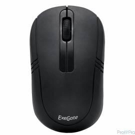 Exegate EX269649RUS Беспроводная мышь Exegate SR-9021 black, optical, 3btn/scroll, 1000dpi, USB Color box