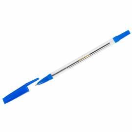 """Ручка шариковая OfficeSpace """"907"""" синяя, 1,0мм, прозрачный корпус"""