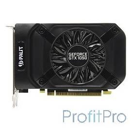 PALIT GeForce GTX1050 StormX 2G nVidia GTX1050 2048Mb 128bit GDDR5 1354/7000 DVIx1/HDMIx1/DPx1/ RTL[NE5105001841-1070F]