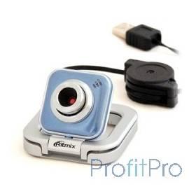 Вебкамера RITMIX RVC-025M USB, 1,3 Мп, 1600x1200, микрофон