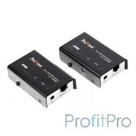 ATEN CE100-A7-G/CE100-C, SVGA+KBD+MOUSE USB, 100 метр., HD-DB15+USB A-тип/USB B-тип, Female, c KVM-шнуром USB, Б.П. 220 5V, (ма