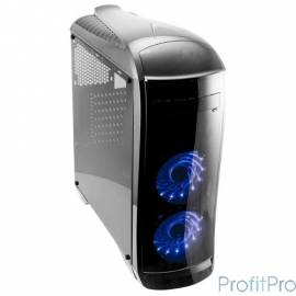 3Cott G09 черный , ATX, без БП, игровой, 1x USB 3.0, 1x USB 2.0, окно, 2х 12см LED