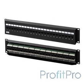 Hyperline PPW-24-8P8C-C5e-FR Патч-панель настенная c передним монтажом, 24 порта RJ-45(8P8C), категория 5e