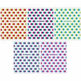"""Тетрадь 48л., А5, клетка ArtSpace """"Узоры. Glitch pattern"""", ВД-лак, эконом"""