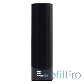 "WD Portable HDD 4Tb Elements Desktop WDBWLG0040HBK-EESN USB3.0, 3.5"", black"