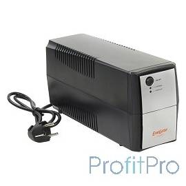 Exegate EP254852RUS ИБП Exegate Power Back BNB-600 600VA, Black-Silver, 2 евророзетки