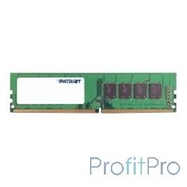 Patriot DDR4 DIMM 4GB PSD44G240041 PC4-19200, 2400MHz