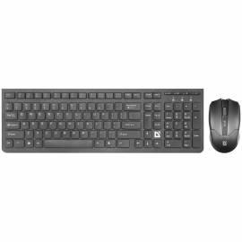 """Комплект клавиатура + мышь беспроводной Defender """"Columbia C-775"""", черный"""