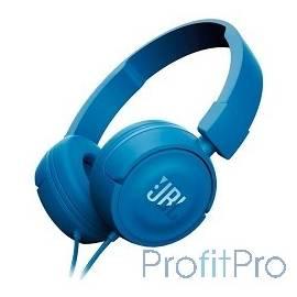 JBL T450, 32 Ом, синий