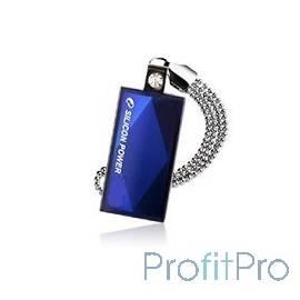 Silicon Power USB Drive 8Gb Touch 810 SP008GBUF2810V1B USB2.0, Blue