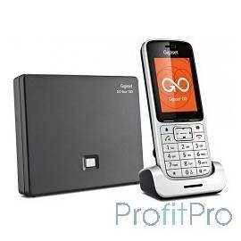 Gigaset [S30852-H2721-S301] IP/Dect телефон SL450A GO RUS SILVER