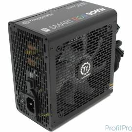 Блок питания Thermaltake Smart RGB [PS-SPR-0500NHSAWE-1] 500W / APFC / 80+