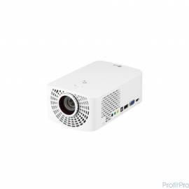 LG PF1500G Белый [PF1500G.ARUZ] DLP, 1920x1080, 1400Lm, 150000:1, HDMI, MHL, USB, 2x3W speaker, WiFi, Bluetooth, 3D Ready, led