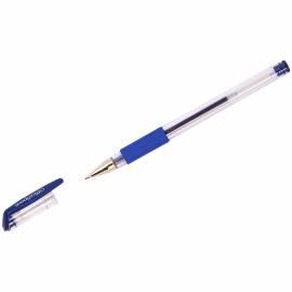 Ручка гелевая OfficeSpace синяя, грип